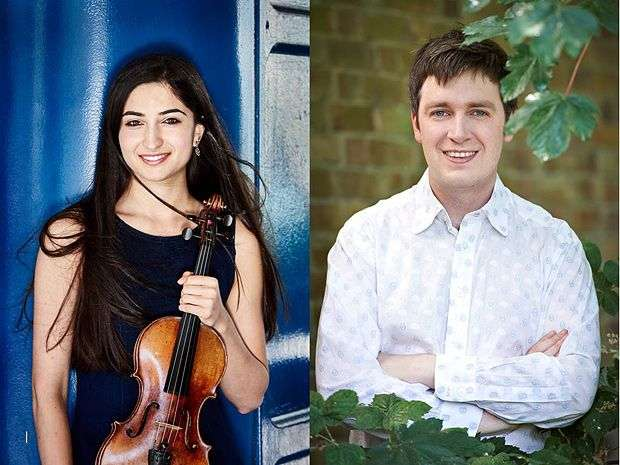 Savitri Grier (violin) and Richard Uttley (piano)